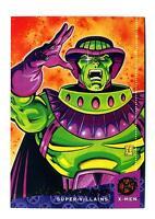 Fleer 1994 X-Men Ultra #132 X-Overs Super-Villains Deceased Card Mesmero