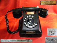 Soviet USSR RARE VINTAGE KGB PHONE BAKELITE 1957s Military LAST CENTURY