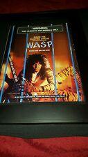 Wasp Inside The Electric Circus Rare Original Promo Ad Framed!