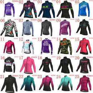 2019 New cycling Jersey women bike shirt long sleeve Bicycle Tops  Sport Uniform