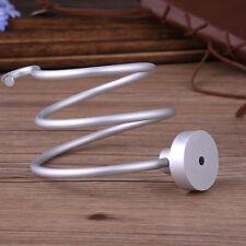 New Spiral Blow Hair Dryer Stand Flat Holder Wall Mounted Hang Holder Organizer