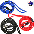 Dog Puppy Training Slip Lead Leash Red Blue Black 6mm 8mm Rope Cord PDOCH06
