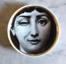 VINTAGE Coupelle Porcelaine FORNASETTI Cavalieri ROSENTHAL Wink Plate Porzellan
