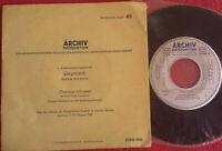 "Gregorianik / Orationes Solemnes / Archiv Serie B: Die Messe 7"" Single Vinyl"