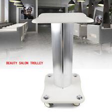 New listing Beauty Salon Trolley Cart Pedestal Rolling Cart w/ Wheel Beauty Instrument Tray