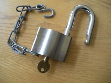 Sargent & Greenleaf  HIGH SECURITY Padlock w/ Key Heavy Duty Lock NEVER USED