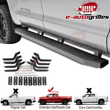 """80"""" Vicious Running Boards Step Bar +Brackets for 07-17 Toyota Tundra Double Cab"""