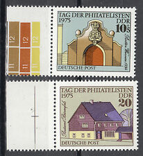 DDR 1975 Mi. Nr. 2094-2095 mit Rand Postfrisch (26294)