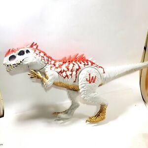 JURASSIC WORLD Indominus Rex Hybrid Dinosaur Jurassic Park Hasbro, does not work