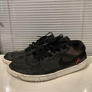 Nike Air Jordan 1 Low PSG Paris Saint Germain CK0687-001 Sz 11 Pre-Owned Creases