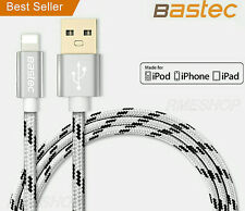Bastec Apple MFI Lightning USB Charger Cable for iPhone X 8 7 6S 6 5S iPad -1.5M