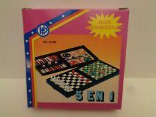 Vintage 5 Magnetspiele 5 in 1 von Hans Postler 80/90er Jahre