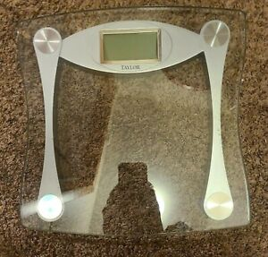 Taylor Precision Products Digital Bathroom Scale, Highly Accurate Body Weight...
