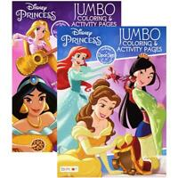 DISNEY PRINCESS Coloring Book | 2 Titles