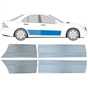 Mercedes C-Klasse W203 2000-2007 4x Vorne und Hinten Tür Reparaturblech / Satz