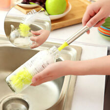 Bottle Cup Cleaning Brush Long Handle Bendable Scrubbing Cleaner Kitchen Tools