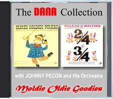 Johnny Pecon & His Orchestra - Moldie Oldie Goodies - MZ 166 POLKA CD