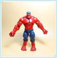 "Hasbro red hulk action figure 8 "" old loose"