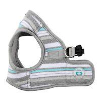 Dog Puppy Harness Soft Vest- Puppia - Oceane - Melange Grey - Choose Size