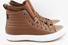 6d50f92371060e Converse CTAS WP Boot Hi Mens Size 11 Leather Shoes 157491C Brown Waterproof