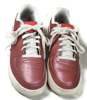 Nike Air Force 1 Low LV8 GS 'Track Red' Sneakers Size 5.5 Y