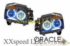 ORACLE For Nissan Armada 2007-2012 BLUE LED Headlight Halo Angel Demon Eyes Kit