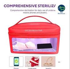 Bolsa Esterilizador UV led con cargador USB esterilizar cosas personales y herramientas