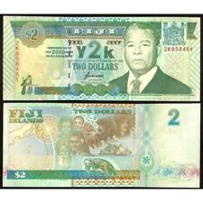 FIJI  2 Dollars 2000 Commemorative UNC P 102