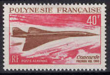Polynésie - 1969 - Avion supersonique Concorde - PA 27  - Neuf * - MLH
