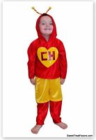 Chapulin Costumes Kid 12T Party Halloween Traje Birthday Chavo Nino Children Boy