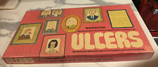 VINTAGE ULCERS BOARD GAME BY WADDINGTONS - 100% COMPLETE