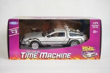 Welly 1:24 Back to the Future DeLorean Time Machine Metal DIECAST CAR MODEL NEW