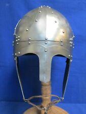 (G) Medieval Norman Nasal Viking Helmet Roman Knight Armour Helmet