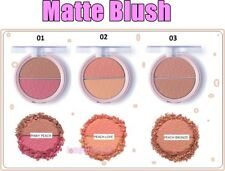 Pretty by Flormar MATTE BLUSH Long Lasting Smooth Texture Natural Look