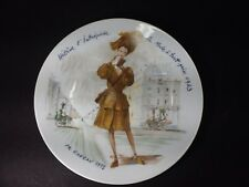 Beautiful Vintage D'Arceau-Limoges Collectors Plate-Ca984 Helene