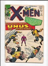 X-MEN #8 ==> VG 1ST APPEARANCE OF UNUS THE UNTOUCHABLE MARVEL COMICS 1964