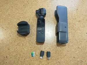 DJI Osmo Pocket 3-Axis Stabilizer and 4K Handheld Camera Used