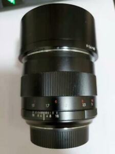 Carl zeiss 85mm f1.4 T* Planar ZE Lens for Canon EF mount