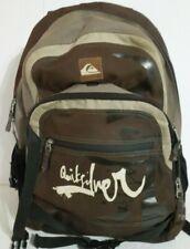 Quicksilver Adjustable Brown Backpack