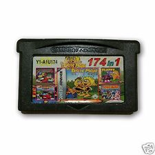 【 174 in 1 】 Nintendo Game Boy Advance SP  Handheld System Cartridges