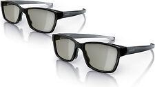2 Pair Philips Pta436 Passive 3d Glasses
