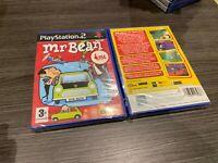 Mr Bean PS2 Versiegelt Neu IN Spanisch