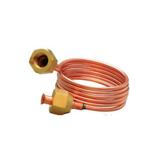 "2PCS Copper Capillary Tube 900mm Length 1/4"" FSAE Refrigeration Parts"