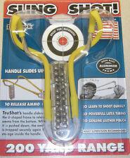 TRUMARK ROCKET WRIST TRUSHOT SLINGSHOT MODEL S9 USA MADE W/AMMO #S9