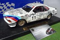 BMW 635 CSI blanc # 11 à l'échelle 1/18 ANSON 30403 voiture miniature collection