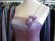 DEBUT/DEBENHAMS LILAC ROSE ORGANZA BRIDESMAID/PROM/BALL GOWN/EVENING DRESS 6/8