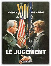 EO BD VANCE 1997 Dargaud XIII Treize 12 Le jugement