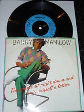 """BARRY MANILOW - I'm Gonna Sit Right Down And Write myself a letter - 7"""" Single"""
