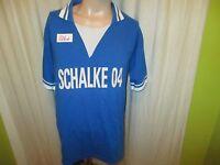 """FC Schalke 04 Original Fan Shop Retro Trikot 1978/79 """"SCHALKE 04"""" Gr.M"""