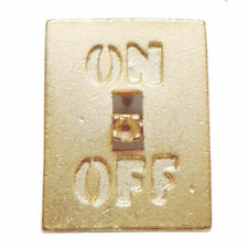 Pin, Jonette Jewelry Vintage On/Off Switch Tac